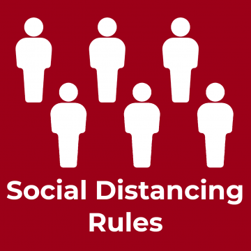 UK social distancing rules by country