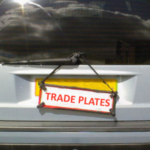 Renewal of Trade Licence Plates – England's second lockdown