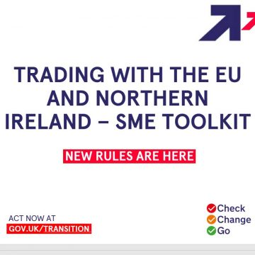 Government presentation on trading with the EU and NI for SMEs