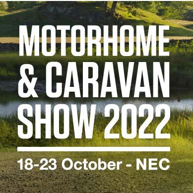 The Motorhome & Caravan Show rescheduled to 18 – 23 October 2022