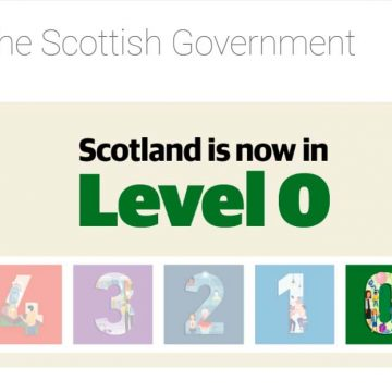 Scotland to move beyond level 0 on 9 August